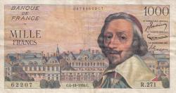 1000 Francs 1956 (4. X.)