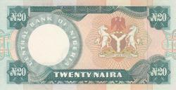 Imaginea #2 a 20 Naira ND (1984-2000)