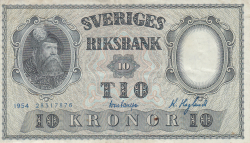 Image #1 of 10 Kroner 1954 - 1
