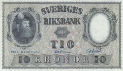 Image #1 of 10 Kroner 1958 - 2