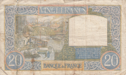 Image #2 of 20 Francs 1941 (30. X.)