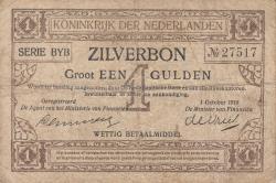 Image #1 of 1 Gulden 1918 (1. X.)