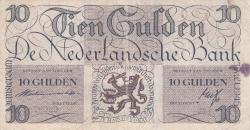 Image #1 of 10 Gulden 1945 (7. V.)