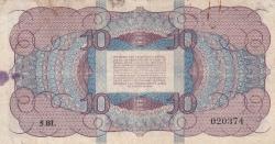Image #2 of 10 Gulden 1945 (7. V.)