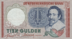 Image #1 of 10 Gulden 1953 (23. III.) - 2