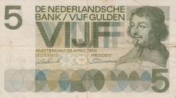 Imaginea #1 a 5 Gulden 1966 (26. IV.)