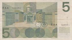 Imaginea #2 a 5 Gulden 1966 (26. IV.)