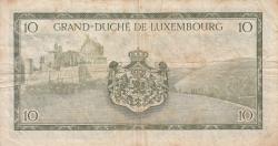 10 Franci ND (1954) - 2