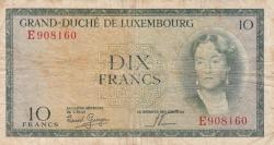 Imaginea #1 a 10 Franci ND (1954) - 2