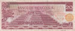 Image #2 of 20 Pesos 1973 (18. VII.) - Serie AS