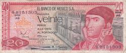 Image #1 of 20 Pesos 1973 (18. VII.) - Serie AS