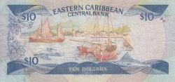 Image #2 of 10 Dolari ND (1985-1993)