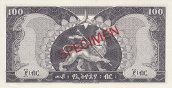 100 Dollars ND (1966) - SPECIMEN