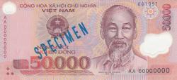 Imaginea #1 a 50 000 Ðồng (20)03- - SPECIMEN