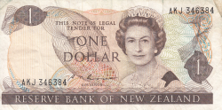 Image #1 of 1 Dollar ND (1985-1989)