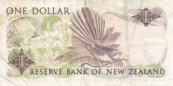 Image #2 of 1 Dollar ND (1985-1989)