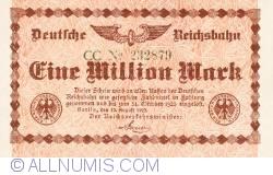 Image #1 of 1 Million (1 000 000) Mark 1923 (12. VIII.) - 2