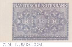 Image #2 of 1 Milliarde (1 000 000 000) Mark 1923 (1. X.)