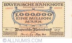 Imaginea #1 a 1 Million (1 000 000) Mark 1923 (15. VIII.)