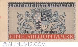 Imaginea #2 a 1 Million (1 000 000) Mark 1923 (15. VIII.)