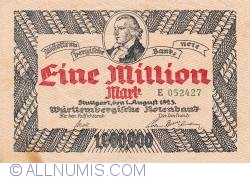 Image #1 of 1 Million Mark 1923 (1. VIII.)