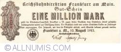 Image #1 of 1 Million Mark 1923 (10. VIII.)