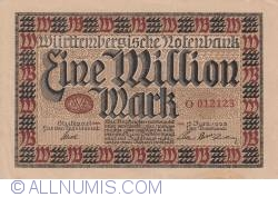 Image #1 of 1 Million Mark 1923 (15. VI.)