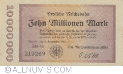 Image #1 of 10 000 000 Mark 1923 (2. IX.) - serial type (1)