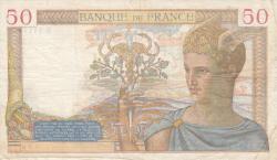 Image #2 of 50 Francs 1939 (28. IX.)