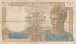 Image #2 of 50 Francs 1940 (11. I.)