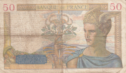 Image #2 of 50 Francs 1940 (22. II.)