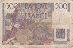 Image #2 of 500 Francs 1945 (7. XI.)