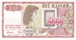 Imaginea #1 a 5000 (Denar) 1992