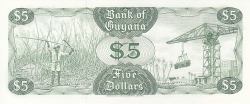Image #2 of 5 Dollars ND (1992)