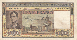 100 Franci 1949 (14. X.)