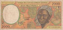 2000 Francs (19)97
