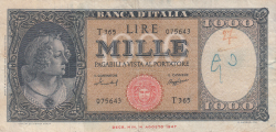 Image #1 of 1000 Lire 1959 (15. IX.)