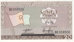 Image #1 of 20 Francs 1976 (1. I.)