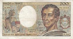 200 Francs 1982
