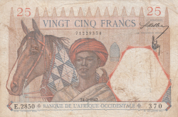 Image #1 of 25 Francs 1942 (24. II.)