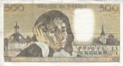 Image #2 of 500 Francs 1972 (6. I.)