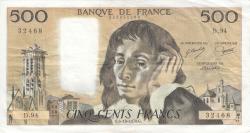 Image #1 of 500 Francs 1978 (5. X.)