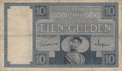 Image #1 of 10 Gulden 1930 (22. I.)
