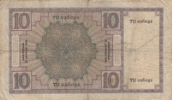 Image #2 of 10 Gulden 1930 (22. I.)