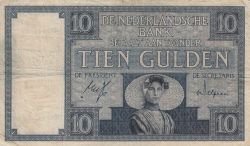 Image #1 of 10 Gulden 1932 (4. III.)