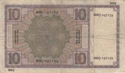 Image #2 of 10 Gulden 1932 (4. III.)