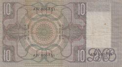 Imaginea #2 a 10 Gulden 1933 (27. VI.)