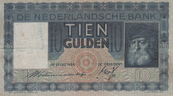 Image #1 of 10 Gulden 1933 (27. VI.)