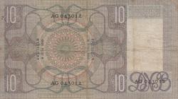 Image #2 of 10 Gulden 1933 (9. VI.)
