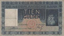 Imaginea #1 a 10 Gulden 1933 (9. VI.)